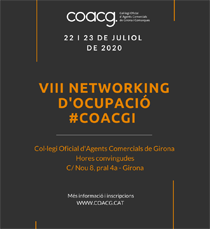 Networking PROFESSIONAL D'OCUPACIÓ GIRONA #COACGI2020