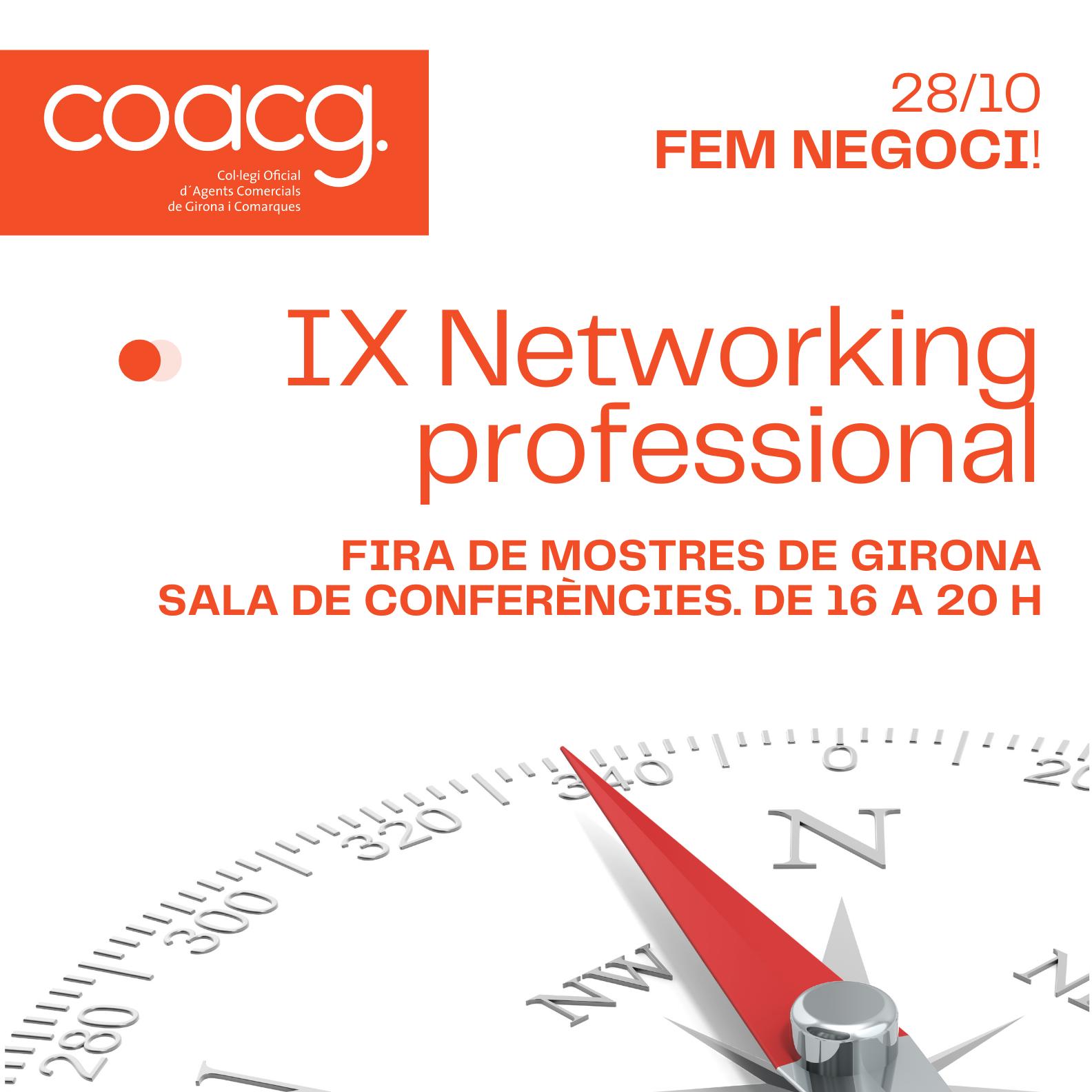 Networking fira girona 2021